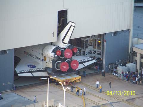 Pictures of ATLANTIS last roll-out from OPF-1 4-13-10 025 (2)